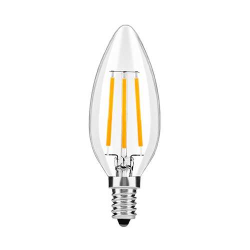 LED žiarovka Avide LED Filament Candle 4W E14WW